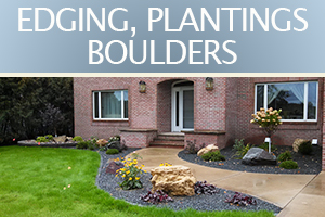 02 EDGING, PLANTINGS BOULDERS copy