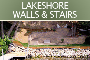 04 LAKESHORE WALLS & STAIRS