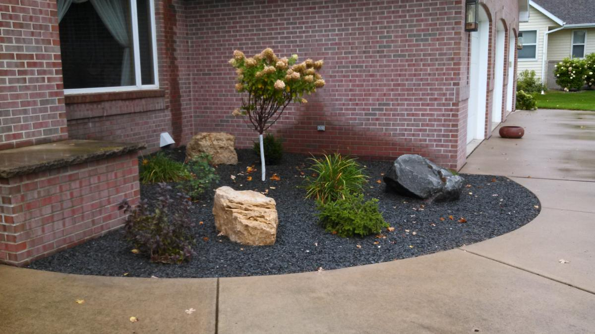 Landscaping Boulders Mn : And boulders creative environments landscaping alexandria mn